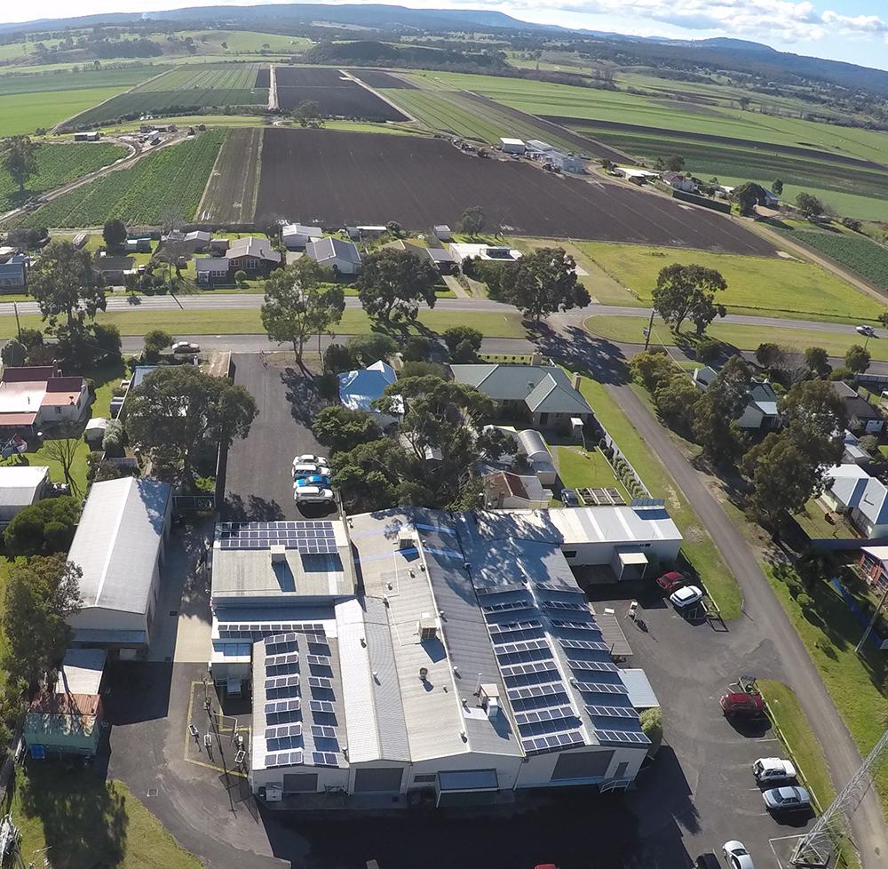 ZCG Roof with Solar Array