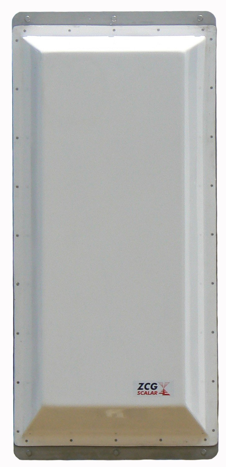 UHF Digital TV vertical polarised panel - 520-820MHz, Ch 27-69, N-female, 250W, 11dBd - 1.1m / The ZUVP is a vertical polarised broadband panel covering the