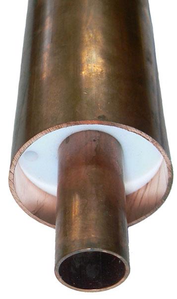 Copper rigid line 1-5/8