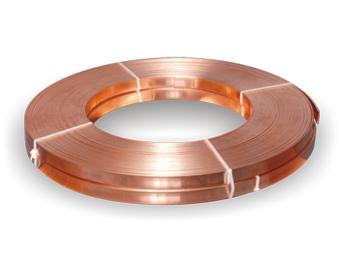 Copper tape earthing strip, 50mm x 0.5mm - 11kg rolls, / 50mm x 6mm copper earthing tape.